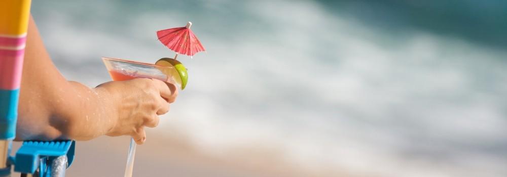I migliori cocktail da spiaggia