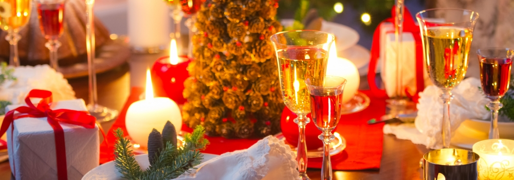 I ristoranti si preparano al Natale