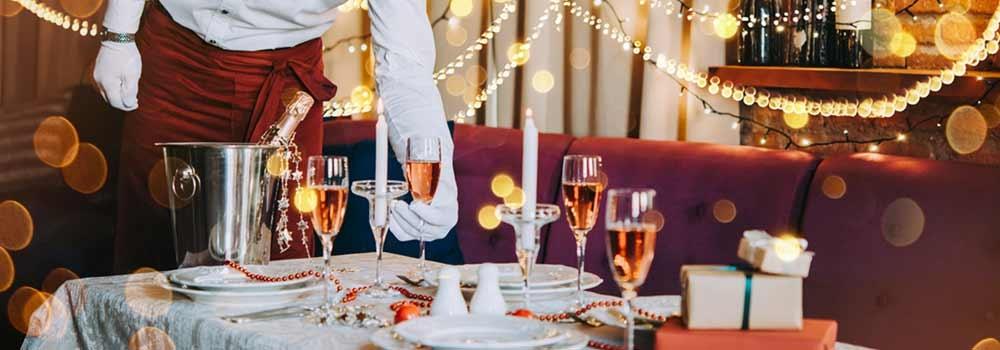Capodanno: ristorante o casa?  No, chef a domicilio!