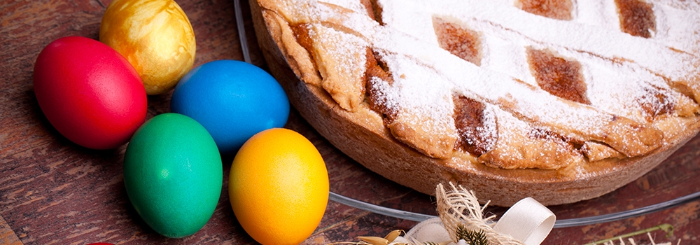 Le specialità culinarie di Pasqua da nord a sud