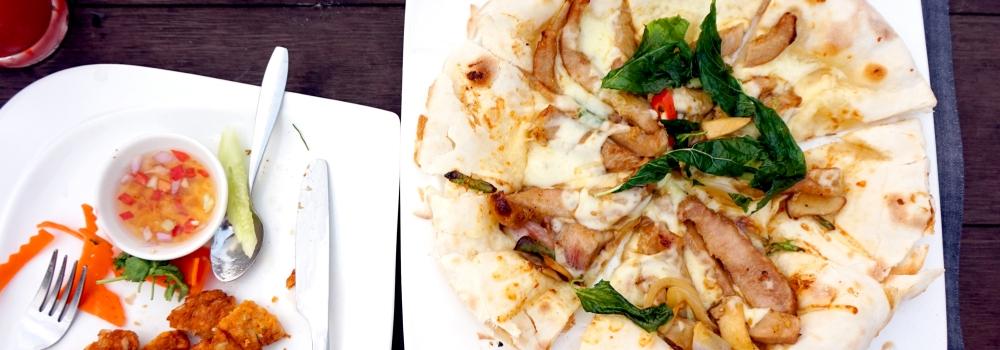 La cucina e la Pizza Fusion