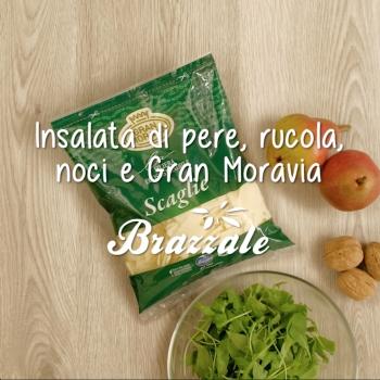 Notizie dal blog: Scopriamo l'insalata di pere con rucola e Gran Moravia!