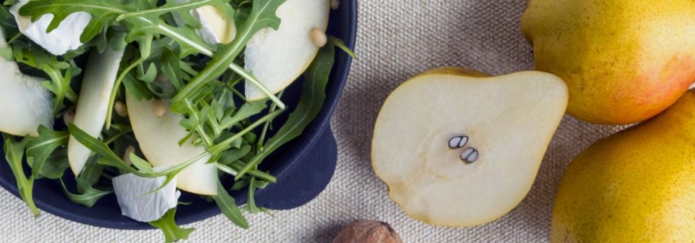 Scopriamo l'insalata di pere con rucola e Gran Moravia!