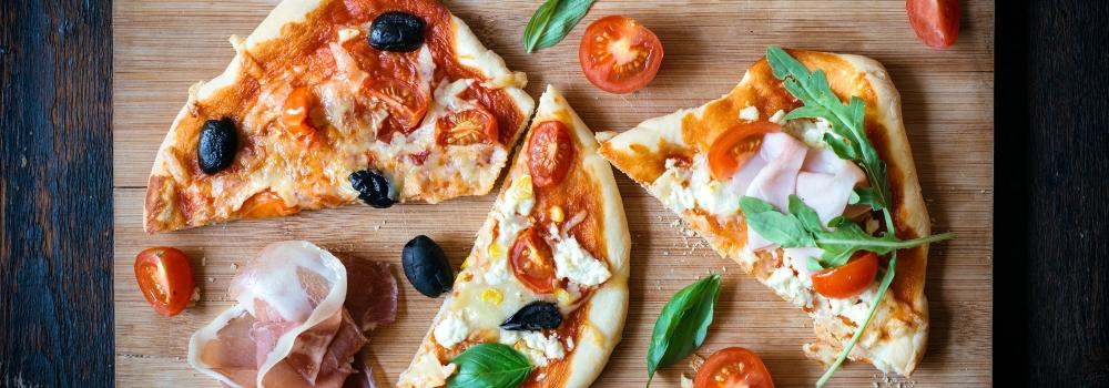 """""""Troppe"""" pizze?  Scegli il tuo menu con cura!"""