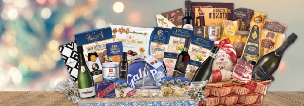 Il cesto di Natale è sempre il regalo ideale!