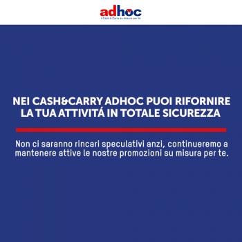 Notizie dal blog: Adhoc resta operativo per ogni tua esigenza