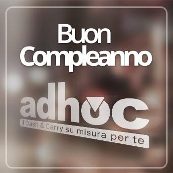 Notizie dal blog: Buon Compleanno, Adhoc!