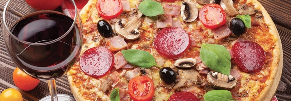 Pizza e vino, la nuova frontiera dell'enogastronomia