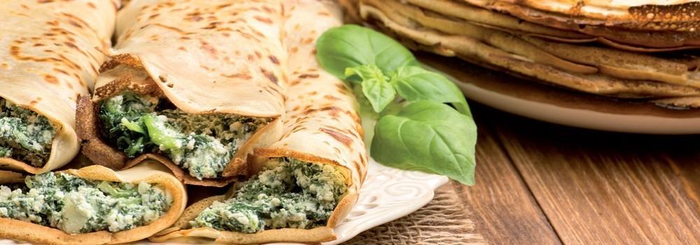 I nuovi trend del gusto: le Crespelle Vegetariane