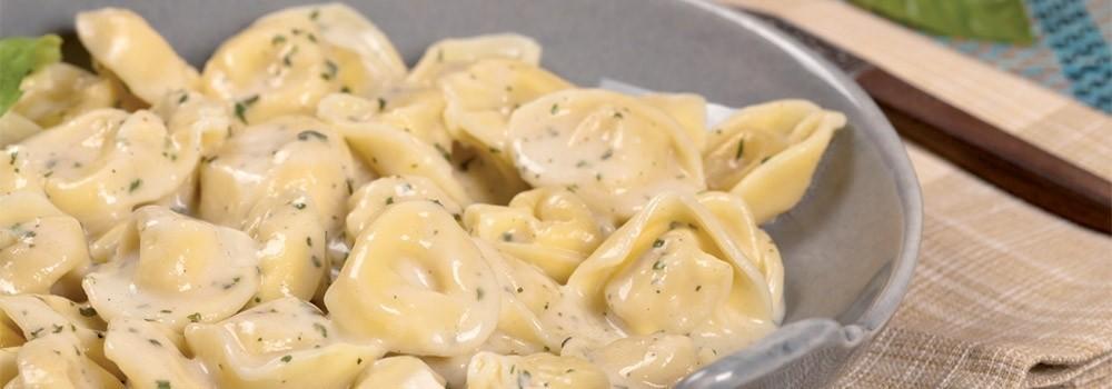 Tortelli con crema di zucca e tartufo