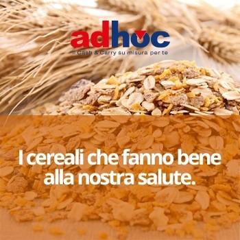 Notizie dal blog: I cereali che fanno bene alla nostra salute.