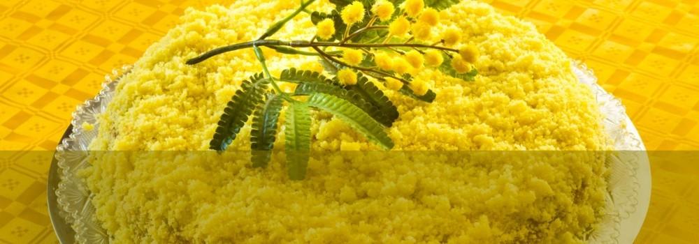 Per l'8 Marzo un menù in giallo