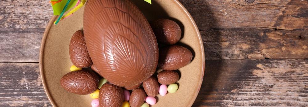 Pasqua in arrivo, è tempo di uova di cioccolata.