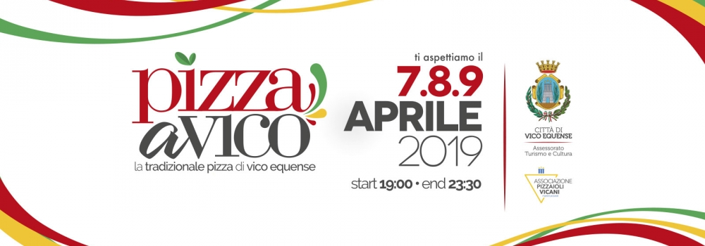 Adhoc Main Sponsor dell'evento Pizza a Vico 2019