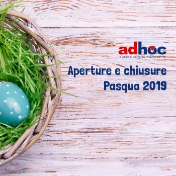 Notizie dal news: Orari Festività Pasqua 2019