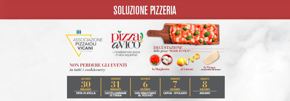 Vieni a scoprire la pizza Made in Vico