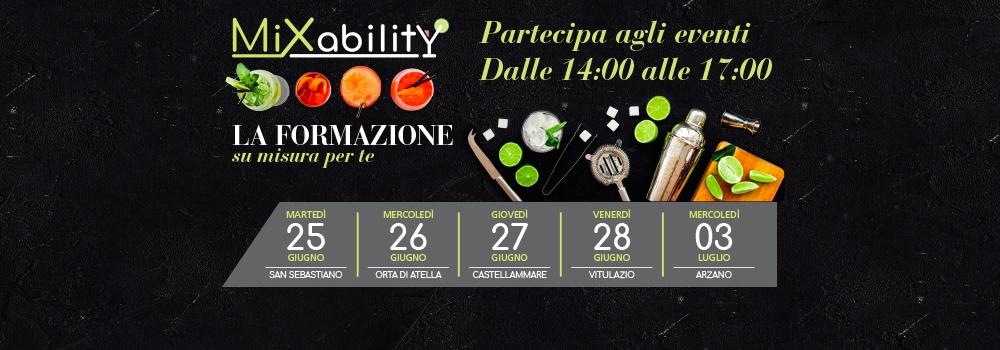 Partecipa agli eventi MixAbility!