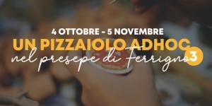 Un pizzaiolo Adhoc nel Presepe di Ferrigno