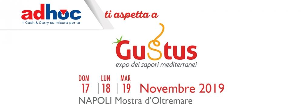 Adhoc parteciperà alla sesta edizione di Gustus