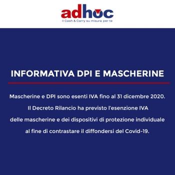 Notizie dal news: Informativa DPI e Mascherine