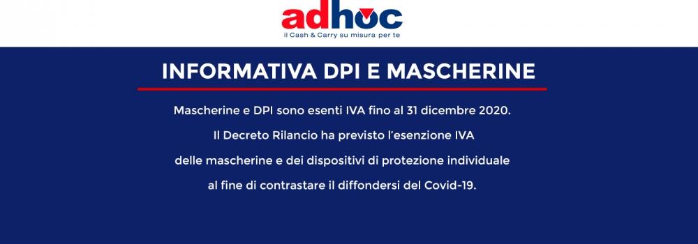 Informativa DPI e Mascherine