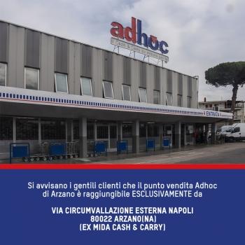 Notizie dal news: AVVISO AI CLIENTI DI ARZANO
