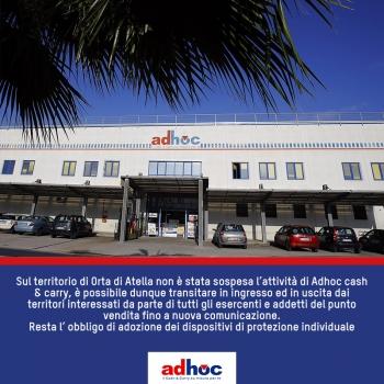 Notizie dal news: Informazione di servizio - accesso Zona Rossa Orta di Atella