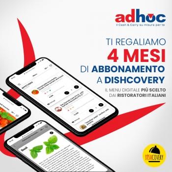 Notizie dal news: Adhoc ti regala Dishcovery!