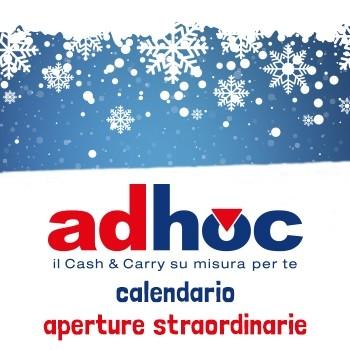 Notizie dal news: Calendario aperture straordinarie Adhoc 2017-2018