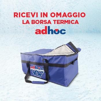 Notizie dal news: Adhoc ti regala una borsa termica