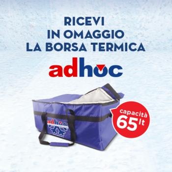 Notizie dal news: Ricevi in omaggio la borsa termica Adhoc