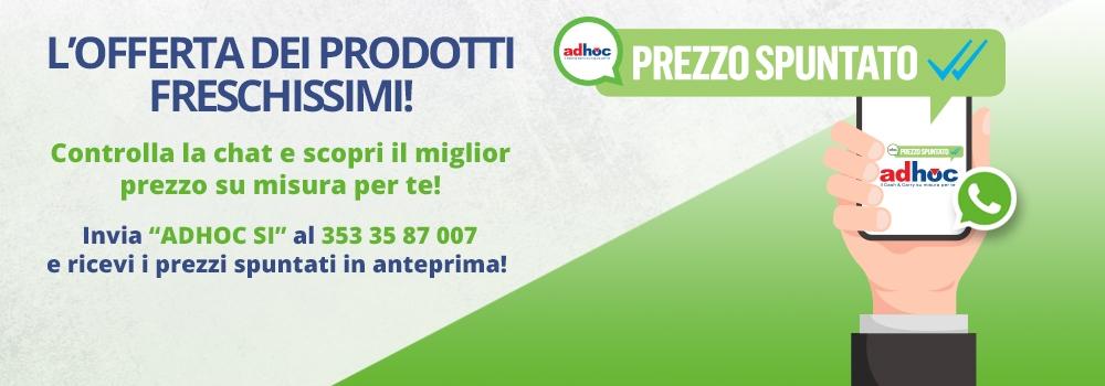 Notizie dal news: Prezzi spuntati Adhoc!
