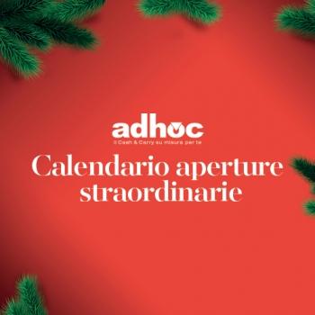 Notizie dal news: Aperture straordinarie Natale 2018-2019