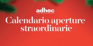 Aperture straordinarie Natale 2018-2019