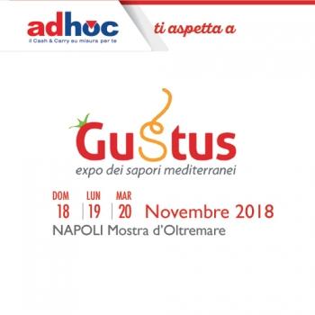 Notizie dal news: Adhoc ti aspetta a Gustus 2018