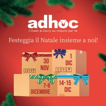 Notizie dal news: Gli eventi di Natale di Adhoc
