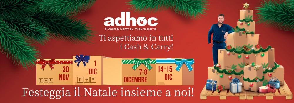 Gli eventi di Natale di Adhoc