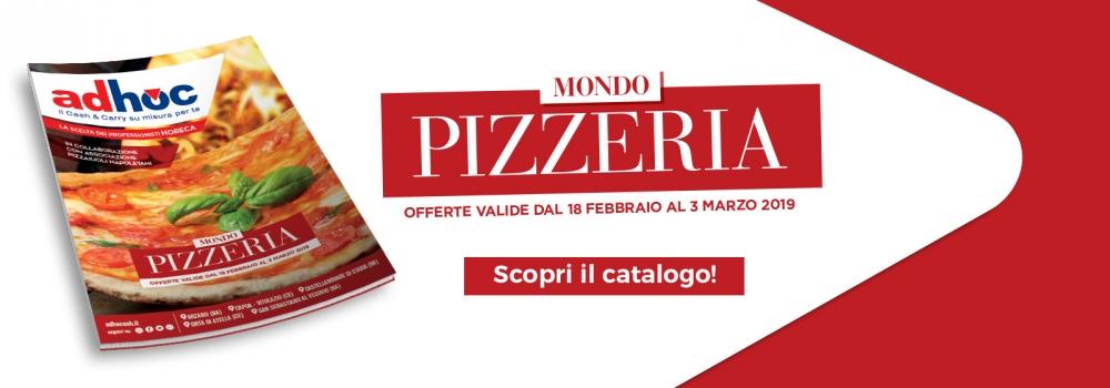 """La scelta dei professionisti HORECA: """"Mondo Pizzeria"""""""