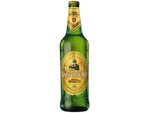 Moretti  baffo d'oro  birra  cl 66