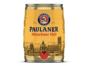 Paulaner  munchner hell fusto lt 5