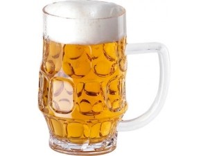 Paderno  boccale birra in metilstirene 50 cl