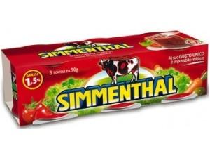 Simmenthal  carne in gelatina  gr 90 x 3