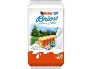 Ferrero kinder brioss  10 merendine GR 270