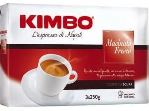 Kimbo caffè macinato fresco gr 250 x 3