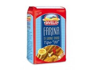 """Divella  farina di grano tenero tipo """"00""""  kg 5"""
