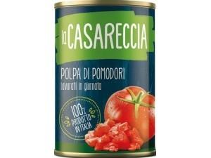 La casareccia  polpa di pomodori gr 400