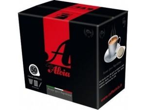 Aloia  caffè in cialde per espresso  aroma tipico napoletano   kit completo • 50 cialde • 50 bicchierini • 50 palettine • 50 bustine di zucchero