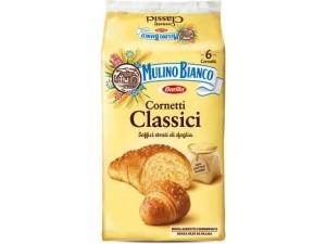 Mulino bianco  6 cornetti di pasta sfoglia  gr 240 • classici • integrali