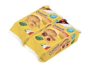Piselli croissant • albicocca • ciliegia • gianduia gr 210