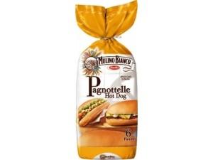 Mulino bianco  pagnottelle  hot dog 6 panini gr 325